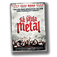 Så jävla metal: The history of Swedish hard rock and heavy metal on DVD