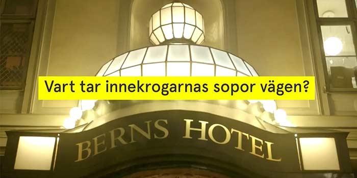 Laikas report about the waste war in SVTs Uppdrag Granskning