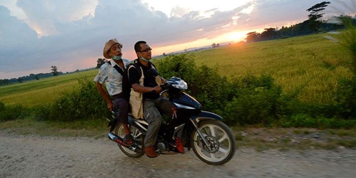 Vägen till demokrati i Burma. Fotograf: Kieran Kolle.